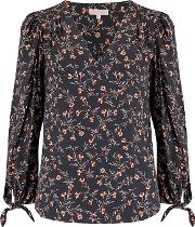 Long Sleeve Lia Floral Top