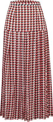 Tina Skirt In Houndstooth