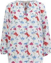 Classic Blouse In English Garden Floral