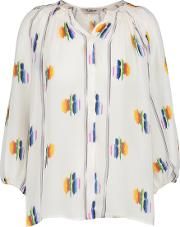 Classic Blouse In Follow The Rainbow
