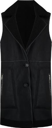 Nolon Reversible Gilet In Black