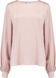 Aggie Blouse In Blush