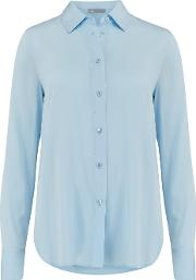 Slim Fitted Blouse In Glacier
