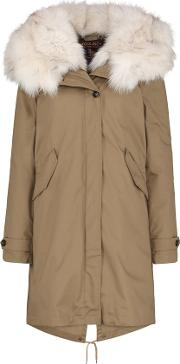 Literary Fox Eskimo Coat In Taupe