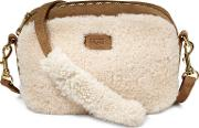 Janey Sheepskin Crossbody Bag