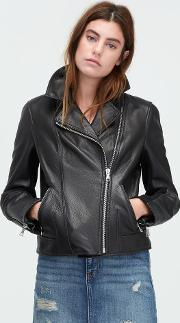 Leather Cycle Jacket Outerwear