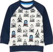 Babies Infant Thomas & Friends Long Sleeve Pullover Navy Age12 18m 80