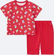 Babies Toddler Peppa Pig Dry Short Sleeved Pyjamas