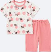 Babies Toddler The Picture Book Dry Short Sleeved Pyjamas