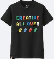 Kids Lego Graphic Print T Shirt