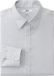 Men Easy Care Regular Fit Oxford Shirt Regular Collar