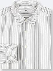 Men Easy Care Regular Fit Striped Shirt Regular Collar