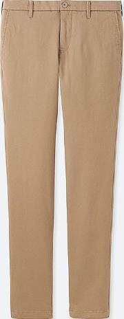 Men Ultra Stretch Chino Flat Front Trousers