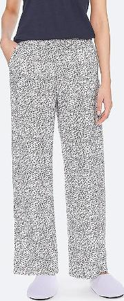 Women Drape Straight Leg Trousers