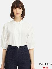 Women Jw Anderson 34 Puff Sleeved Blouse