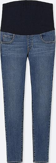 Women Maternity Ultra Stretch Jeans