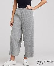 Women Ribbed Wide Fit Trousers
