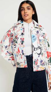 Graffiti Double Pocket Jacket