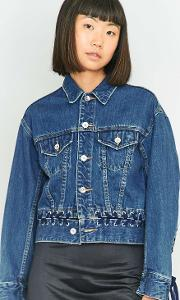 G.v.g.v. Denim Lace Up Jacket