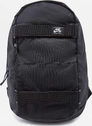 Courthouse Black Backpack