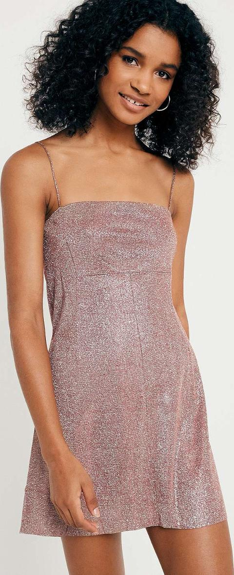 Pins And Needles Clothing Inspiration Pins Needles Moonbeam Metallic Slip Dress Obsessory
