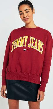 Collegiate Wine Logo Sweatshirt