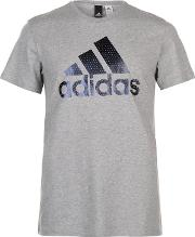 Foil Logo T Shirt Mens
