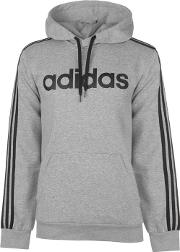 Three Stripe Essentials Hoodie Mens