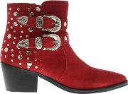Irma Studded Ankle Boots