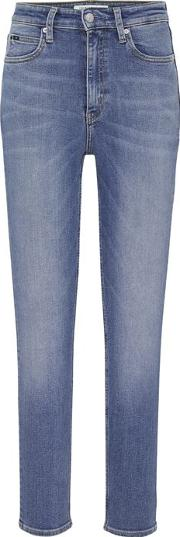 010 High Rise Skinny Ankle Grazer Jeans