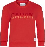 Satin Bond Crew Sweater