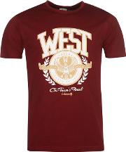 West Uni T Shirt Mens