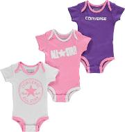 Romper Suits 3 Pack Baby
