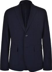 Check Slim Lightweight Blazer