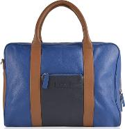 Tone Leather Holdall