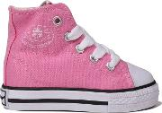 Infant Canvas High Top Trainers