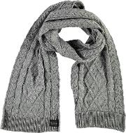 Blackseal Cable Scarf