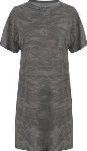 Blackseal Camo T Shirt Dress