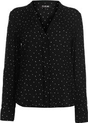 Blackseal Dot Blouse