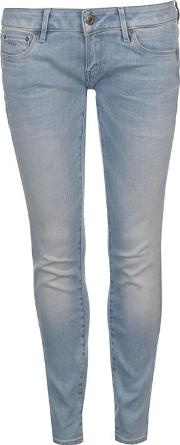 3301 Low Rise Skinny Jeans Womens