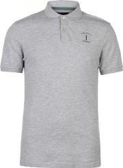 Mr Classic No 1 Logo Pique Polo