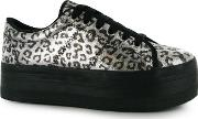 Play Zomg Leopard Print Trainers