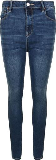 Sultry High Waisted Skinny Jeans