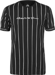 Clifton Pin Strip T Shirt Mens