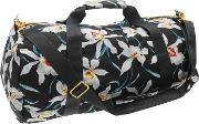 Mipac Orchid Floral Duffle Bag