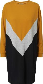 City Colour Block Dress