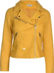 Summer Faux Leather Biker Jacket