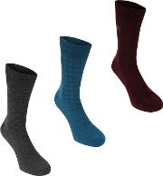 Link Socks 3 Pk Mens