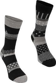 Socks 2 Pk Mens