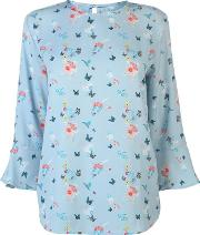 All Over Pattern Blouse Ladies